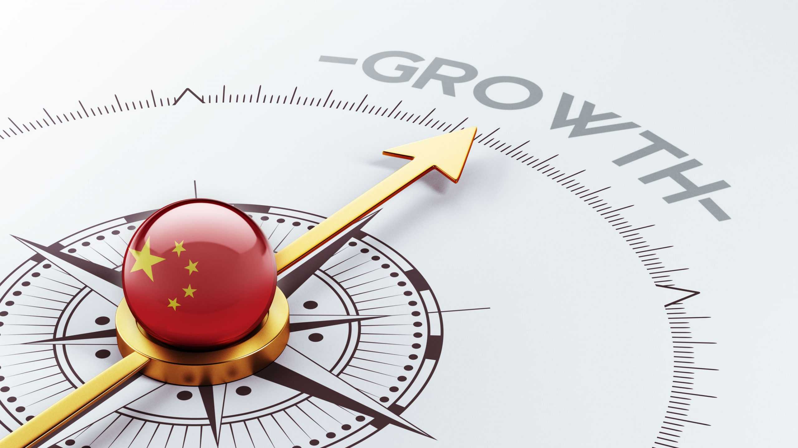 china high resolution growth concept